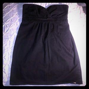 Volcom lil black sweetheart dress